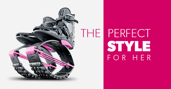 The Perfect Style for Her - Kangoo Jumps XR3 SE Black/Pink