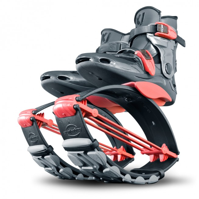 KJ Power Shoe for Juniors in Red/Titanium