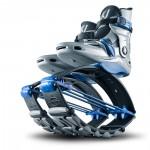 KJ Power Shoe for Juniors in Silver/Blue