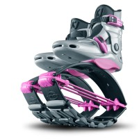 KJ Power Shoe Special Edition for Juniors in Silver/Pink